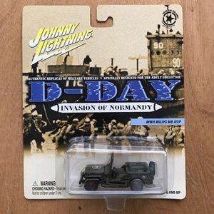 Johnny Lightning D-Day Jeep